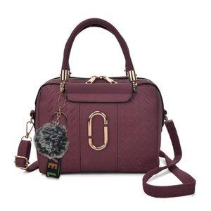 Purple Bag with Metal