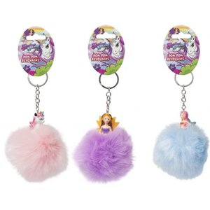 Magical Kingdom Pompom Sleutelhangers