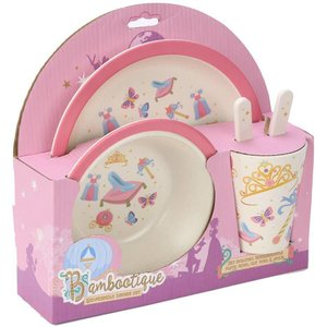 Pretty Princess Bamboo Dinner Set
