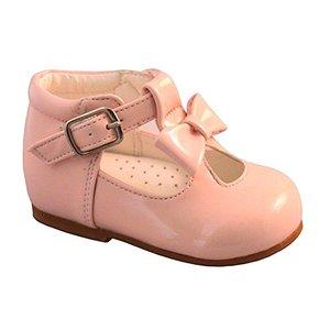 Sevva: Pink Spanish shoe with bow
