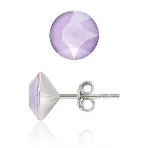 SWAROVSKI: Crystal Earrings 'Lilac' (6 mm)