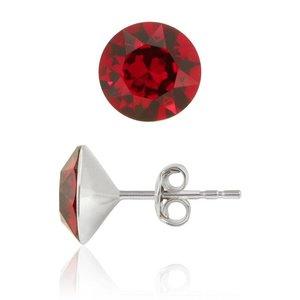 SWAROVSKI: Crystal Earrings 'Scarlet' (6 mm)
