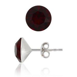 SWAROVSKI: Crystal Earrings 'Siam' (6 mm)