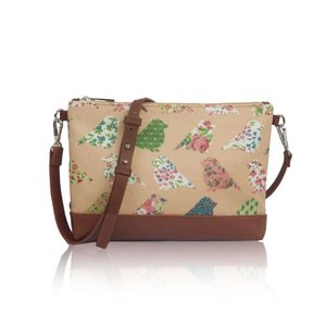 Mini Cross Body Bag 'Birds & Flowers'