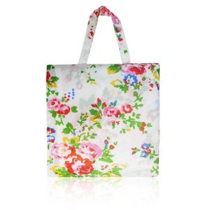 Foldaway Shopper Bag 'Vintage Flowers'