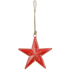 Red Metal Nordic Star (15 cm)