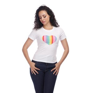 Collectif: RAINBOW LOVE T-SHIRT