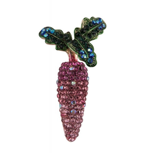 Collectif: SPARKLY RADISH BROCHE