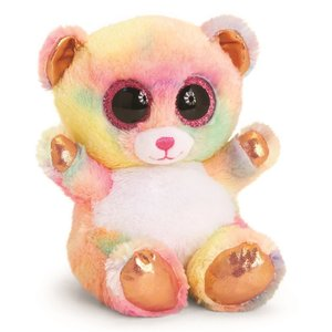 KEEL TOYS Rose Gold Animotsu Rainbow Bear 15 cm