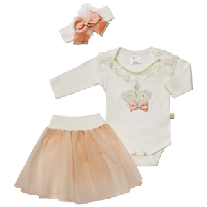 AURORA ROYAL: Princess Outfit 'BARBIE' (3-6 mnd)