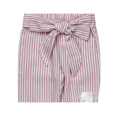 AURORA ROYAL: STRIPED COTTON SUMMER OUTFIT