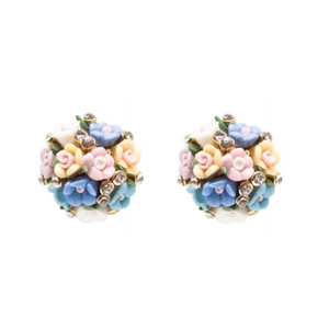 COLLECTIF - Earstuds 'POSY BOUQUET'