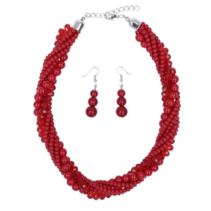 COLLECTIF - Jewelryset 'ISLA Red'