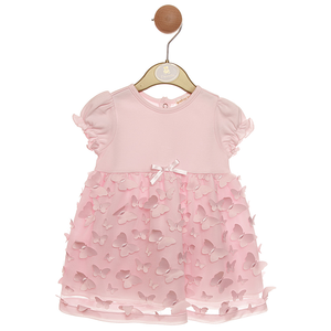 MINTINI BABY - Dress + Pants 'LACE & BUTTERFLIES'