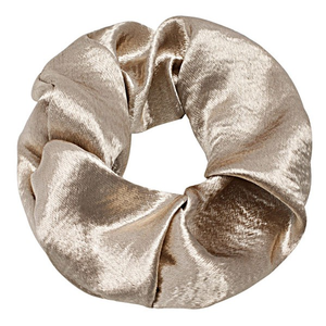 Soft Satin Scrunchie Gold