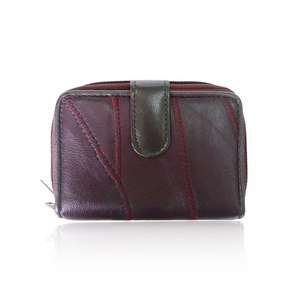 Real Leather Purse 'MADELIN'