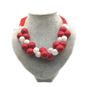 Necklace 'RED RIBBON'