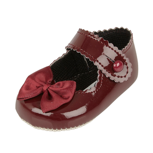 BAYPODS - Baby Patent shoe with Bow