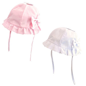 SOFT TOUCH - Baby Summer Hat with Bow