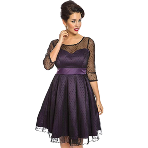 LINDY BOP - SEREPHINA  Party Dress 'Russian Violet'
