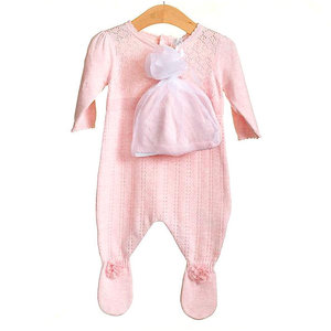 ZIP ZAP - Knitted Baby Suit with Hat
