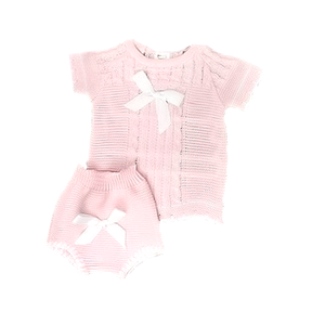 FRUIT DE MA PASSION - Knitted Baby Suit - 100% Cotton