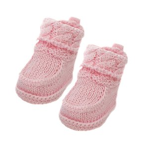 Crochet Cotton Bootees