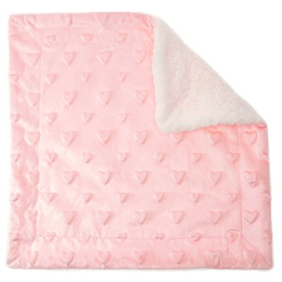 Soft Touch Bubble comforter with sherpa