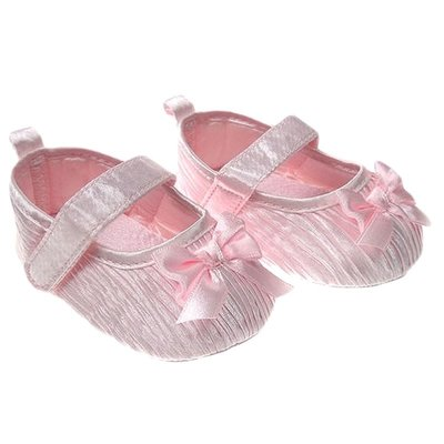 Satin Shoes with Bow