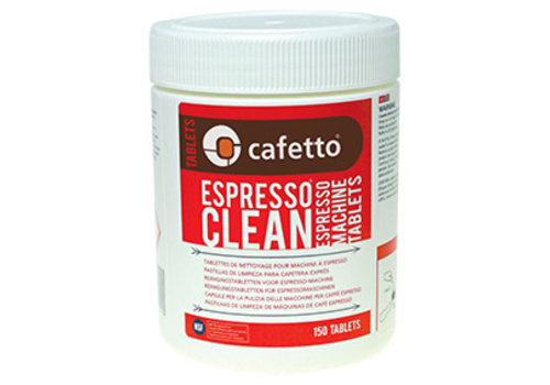 Espresso Clean Tablets (carton: 12 x 150/jar)