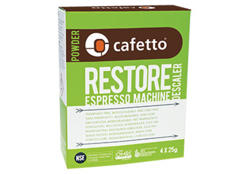 Restore Descaler (carton: 12 x (4 x 25gr)/box)