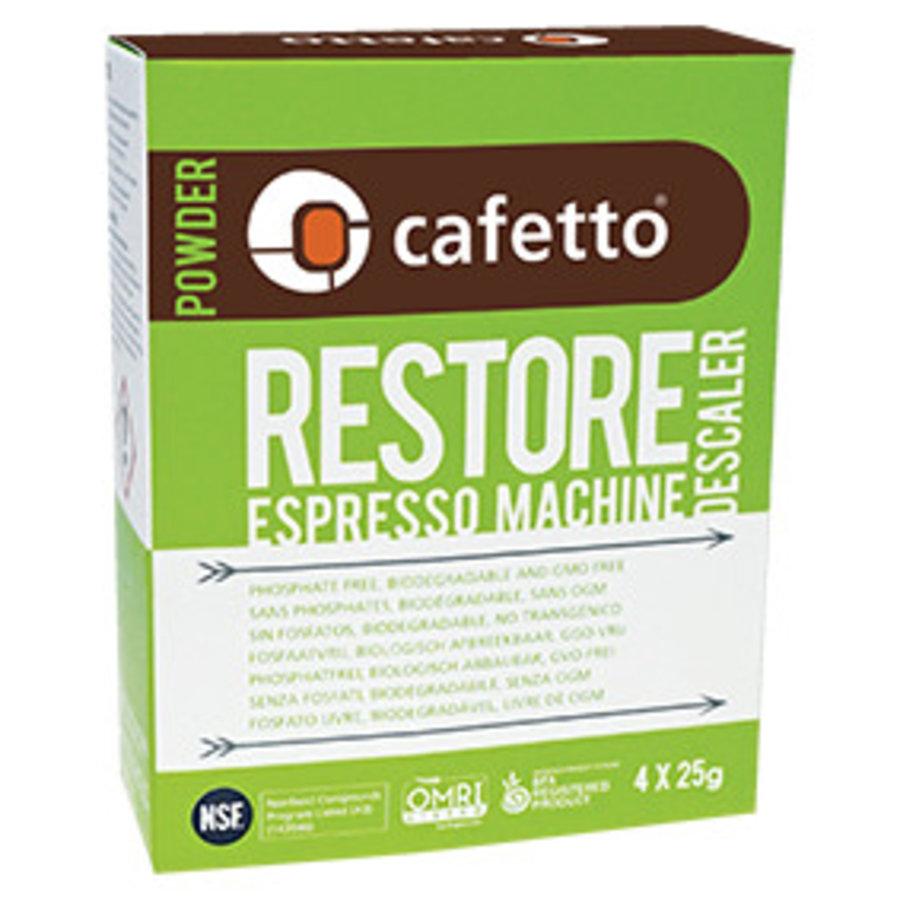 E28303 Restore détartrant (carton: 12 x (4 x 25gr)/boîte)