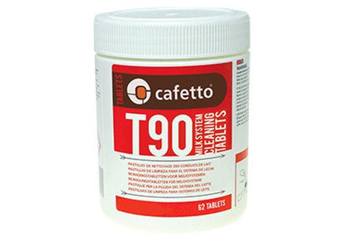 T90 tablettes nettoyantes pour lait (carton 12 x 62 unités)