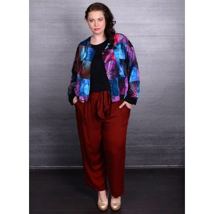Luna Serena Jacke PATCH LONG PRINT