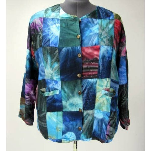 Luna Serena Jacket PATCH LONG PRINT