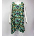 Luna Serena Tunic MAXI XL PRINT BROWN