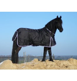 LuBa Horseblankets® FRIESIAN | BAROQUE EXTREME Turnout 1680D® Rainblanket 0g