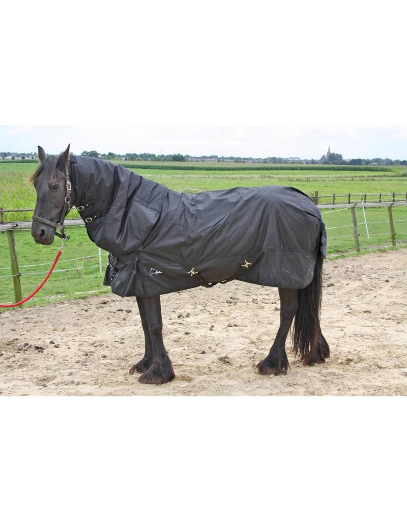 FRIESIAN | BAROQUE EXTREME Turnout 1680D® Winterblanket 300gr - COMBO detachable Neck