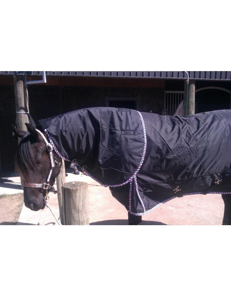 LuBa Horseblankets® FRIESIAN | BAROQUE EXTREME Turnout 1680D® Winterblanket 300gr - COMBO detachable Neck