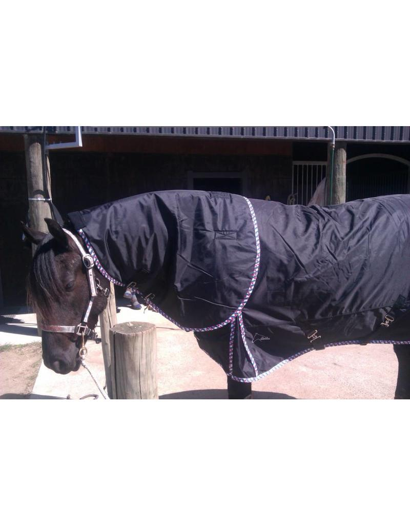 FRIESIAN | BAROQUE EXTREME Turnout 1680D® Winterblanket 150gr - COMBO detachable Neck