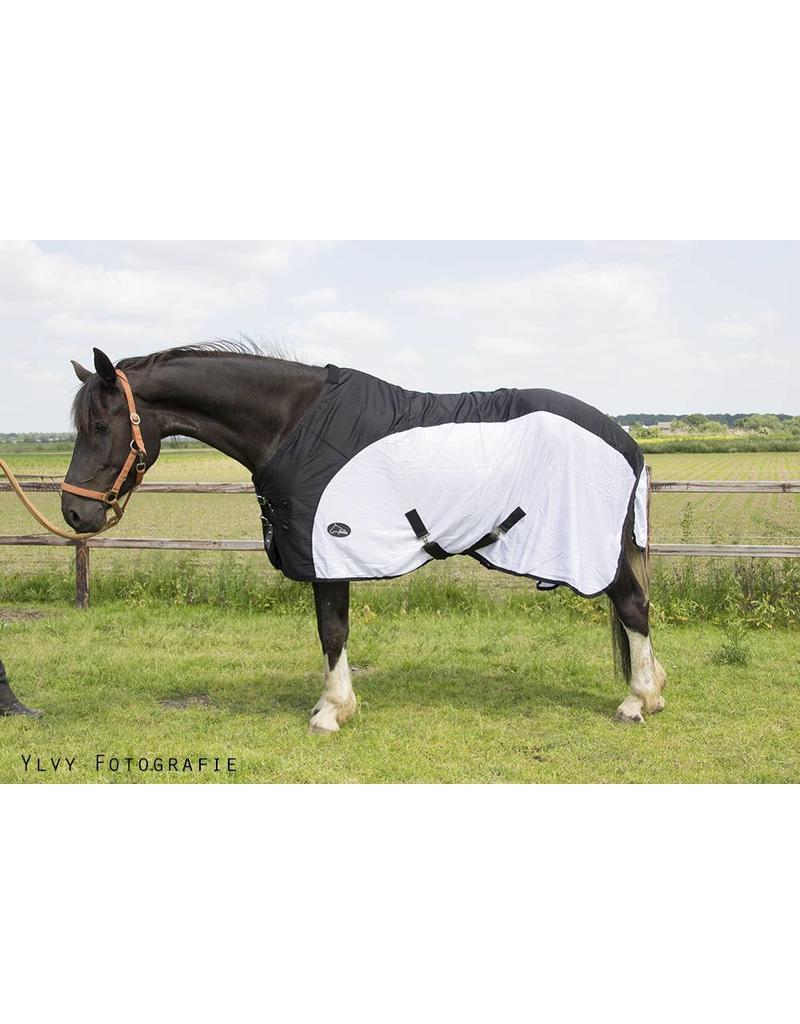 LuBa Horseblankets® Fly rug LuBa3229 Black/White