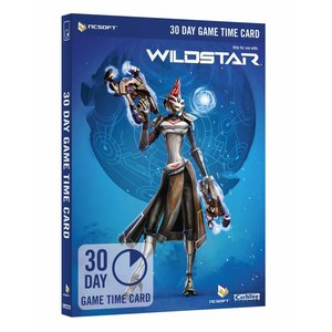 Wildstar - Game Timecard | 30 days Game Timecard Code direct in je email.