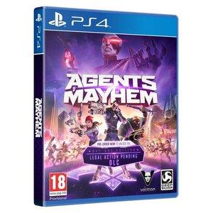 Deep Silver Agents of Mayham | PS4 | een game met krankzinnige thema's en nietsontziende humor! | RESERVEER NU!