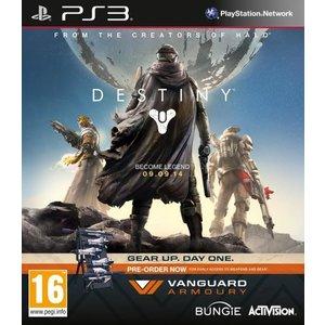 Activision Destiny - vanguard edtion | PS3 Reserveer Destiny nu en krijg op dag één direct exclusieve toegang