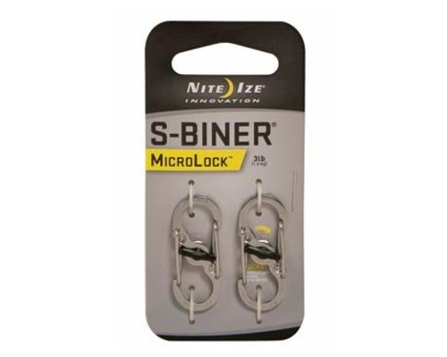 Nite Ize S-Biner Microlock Stainless