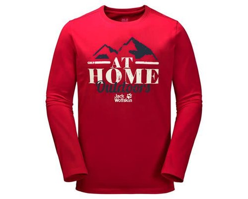 Jack Wolfskin At Home longsleeve men
