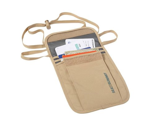 Sea to Summit Neck Pouch 3 sand/grey