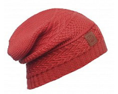 BUFF Knitted Hat Hob Cayenne