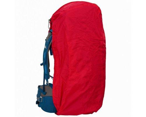 Lowland Raincover/flightbag rood