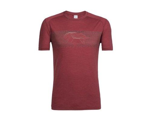 Icebreaker Men Sphere SS Crewe Linescape shirt